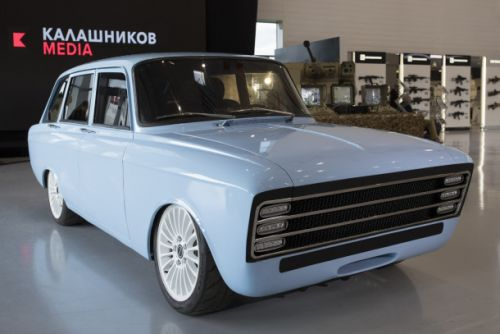 Russia's answer to the Tesla is here, and it's made by Kalashnikov. Yes, that Kalashnikov