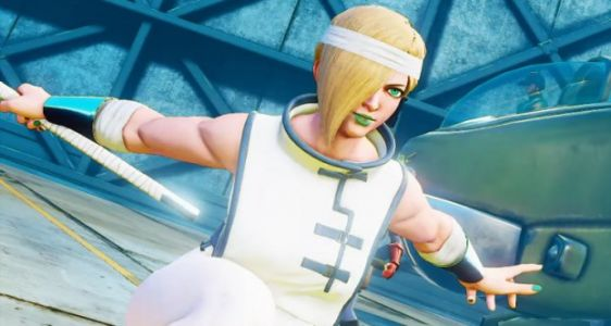 "Falke - the ""Guardian Hawk"" - swoops into Street Fighter V: Arcade Edition on April 24th"
