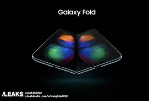 Leaked Samsung Galaxy Fold render gives first look at the foldable handset