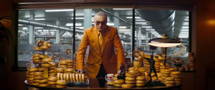 Robert De Niro Stars in Weird UK Bagel Ad
