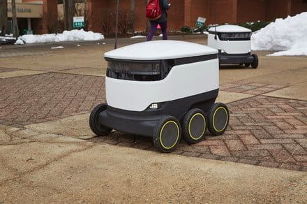 World's biggest fleet of campus delivery robots now transporting student meals