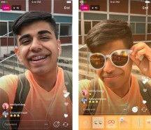 Instagram brings face filters to live video - CNET