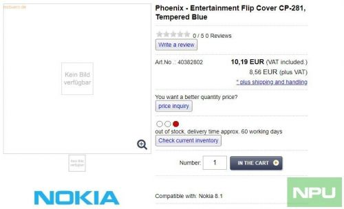 Nokia 8.1 is Phoenix & coming soon with Nokia 9 Pureview, reveal listings of official cases