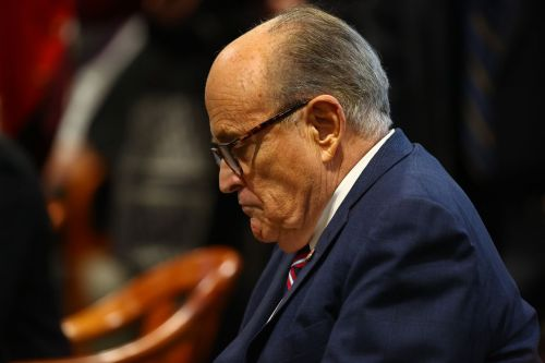 Rudy Giuliani just lost his YouTube privileges for two weeks