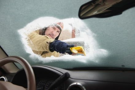 No more scraping? Anti-frosting advance could mark end of frozen windshields