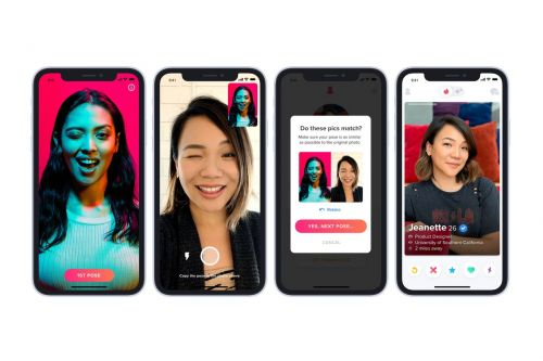 Tinder will give you a verified blue check mark if you pass its catfishing test