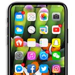Latest Apple iPhone 8 dummy created to show a 'live' look