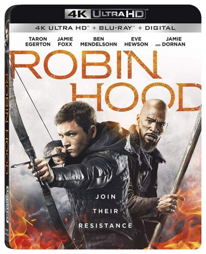 'Robin Hood (2018)' 4K, Blu-ray, DVD, Digital Release Date and Details