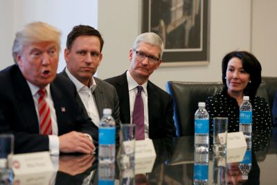Apple, Microsoft and others urge Trump to keep Paris climate pact