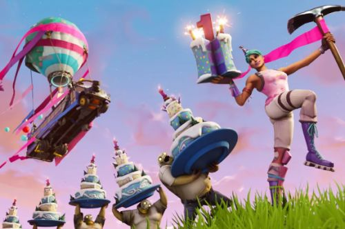 Fortnite's first birthday means free stuff for players