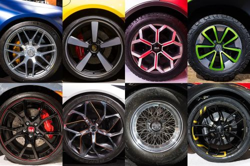 The mesmerizing rims of the 2019 New York Auto Show