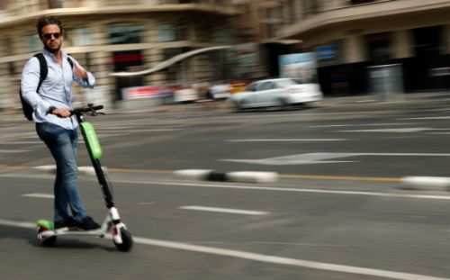 Google Maps will get you to where you're going with a Lime electric scooter