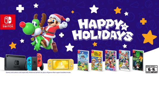 Get $30 Off From the New Nintendo Switch With Amazon's 12 Days of Deals