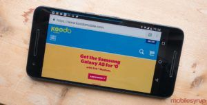 Koodo says VoLTE and Wi-Fi calling is currently in testing, launch time still unclear