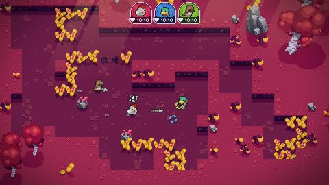 Blazing Beaks Is A Twin-Stick Shooter Of Birds With Big Guns