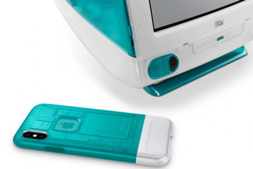 Enter to win Spigen's Bondi Blue iPhone X case inspired by the iMac G3