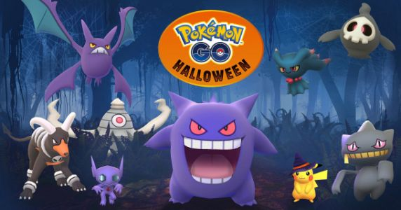 'Pokemon Go' Halloween event adds new Gen 3 Pokemon and a special Pikachu