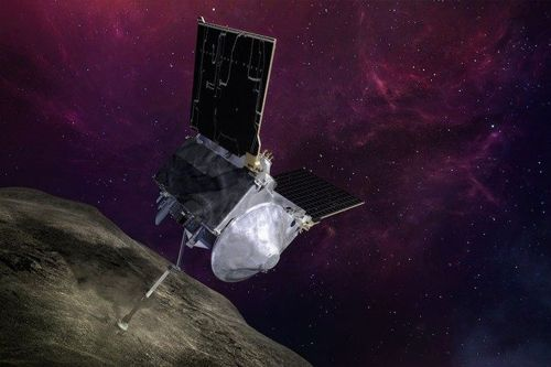 NASA's OSIRIS-REx spacecraft successfully taps an asteroid in attempt to a grab sample