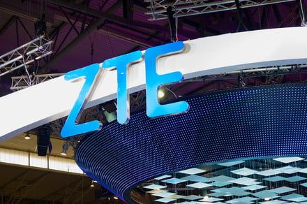 American companies are banned from selling to Chinese smartphone maker ZTE