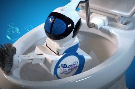 Forget the fecal matter forever and let this toilet-scrubbing robot take over