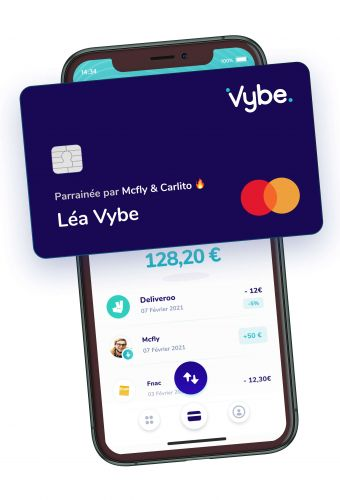 Vybe raises $2.9 million for its challenger bank for teens