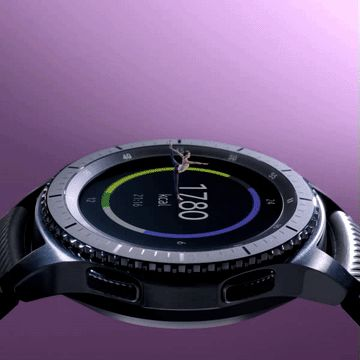 Pay attention to your pose and let the GearS3 track the rest