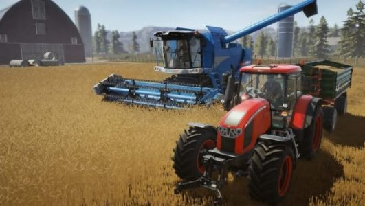 People love farming games for some reason; Pure Farming 2018 is another one