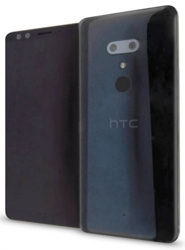 HTC U12+ leaked render and hardware specs, 😮 face on the back