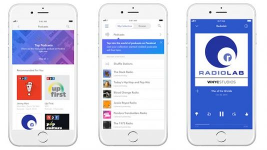 Get Personalized Podcast Recommendations from Pandora