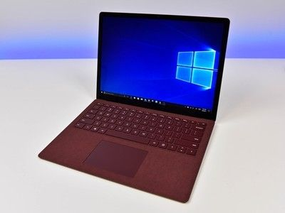 The Microsoft Surface Laptop comes in four different colors for $880