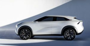 Infiniti shows off stunning new electric vehicle concept car at the North American Auto Show