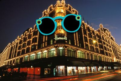 Snap tests the retail waters by selling Spectacles in Harrods