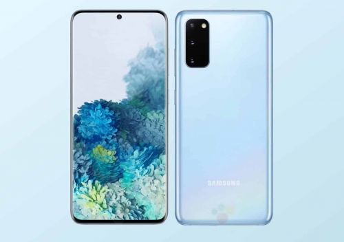 Samsung Galaxy S20 Cloud Pink, Cloud Blue and Cosmic Grey color exposed, Official cases leaked too