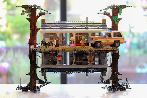 Lego Stranger Things lets you build Hawkins and the Upside Down
