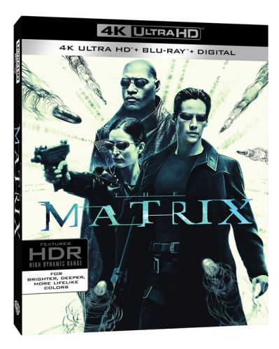 'The Matrix' 4K Ultra HD Blu-ray Coming in May with Full Video Remaster