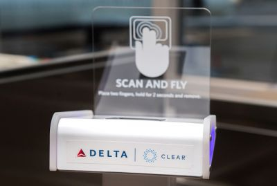 Delta will let you use your fingerprint as a boarding pass