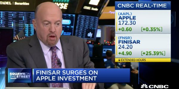 Apple didn't invest in Finisar
