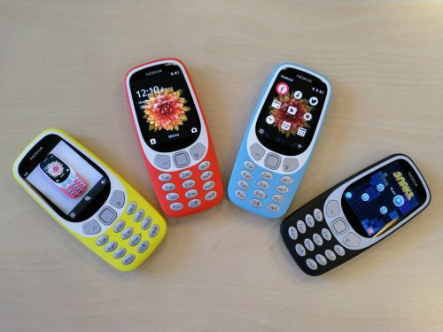 Nokia 3310 & 6 in 10 most searched consumer devices on Google in year 2017