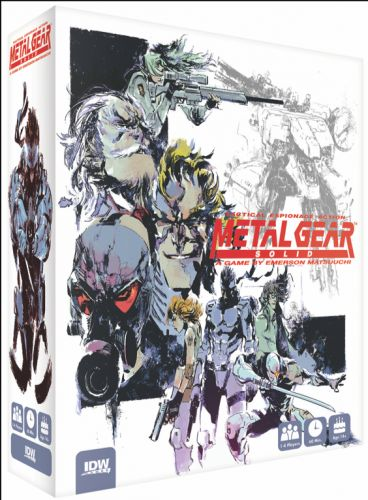 Metal Gear Solid Tabletop Game Announced