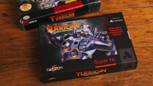 Every Super Nt System Comes Bundled With Super Turrican: Directors Cut