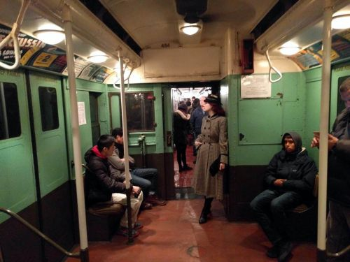 New York City's secret subway line with antique cars is going back into service - here's what it's like to ride it