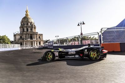 Watch Roborace's self-driving racecar lap a circuit for the first time ever