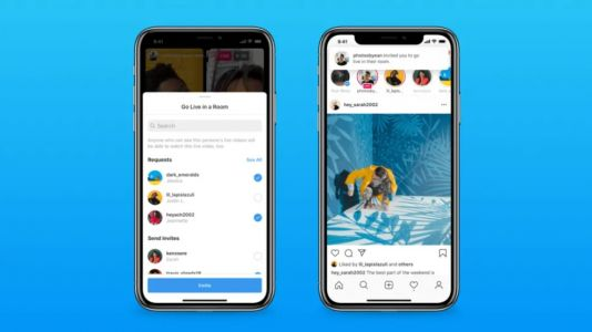 Instagram Launches Live Rooms Feature Allowing Four People to Group-Stream