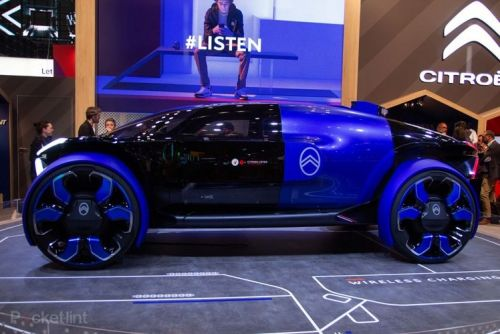 Citroen's 19 19 Concept celebrates 100 years of history with a techy vision of the future