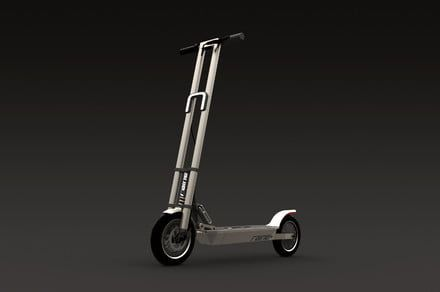 The CyberScooter Edition electric scooter is designed to replace your car