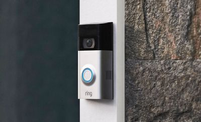 Ring's updated doorbell stays in place while you swap batteries