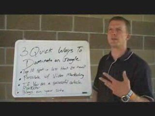 Search Engine Optimization tutorial:  How to dominate Google