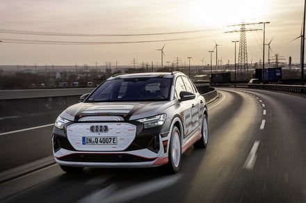 Audi's electric 2022 Q4 E-Tron packs big tech lots of space in a compact package