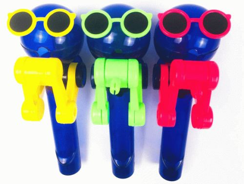 Amazon has mechanical lollipop holders that look like robots, and you need them in your life