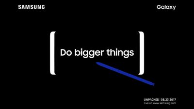 Brace for impact: Samsung Galaxy Note 8 launch is on August 23